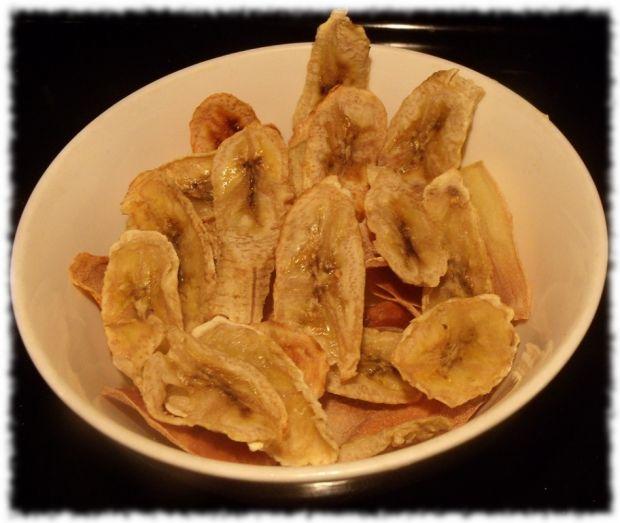 Bananowe chipsy z miodem