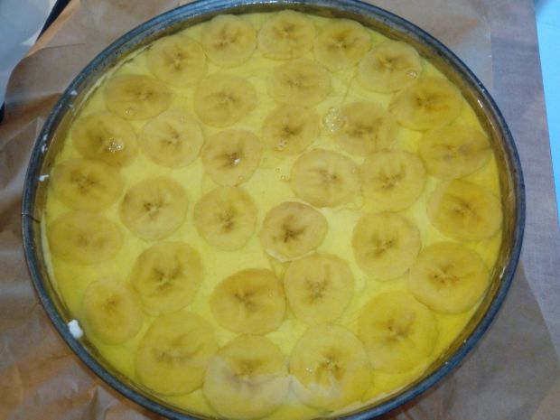Bananowiec bez pieczenia