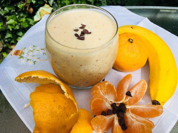 Bananowo-mandarynkowe smoothie