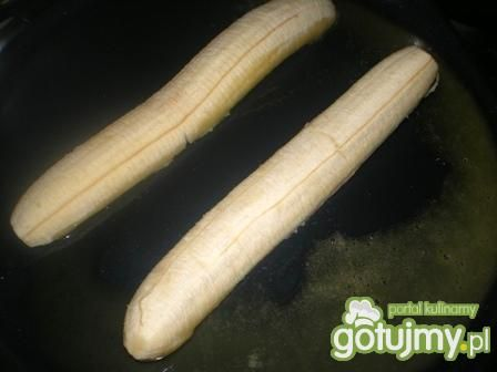 Banany w kokosie