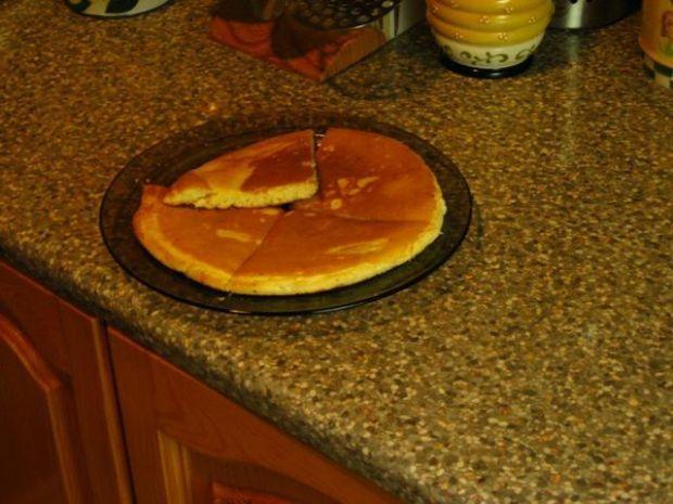 Bardzo puszysty omlet.;]