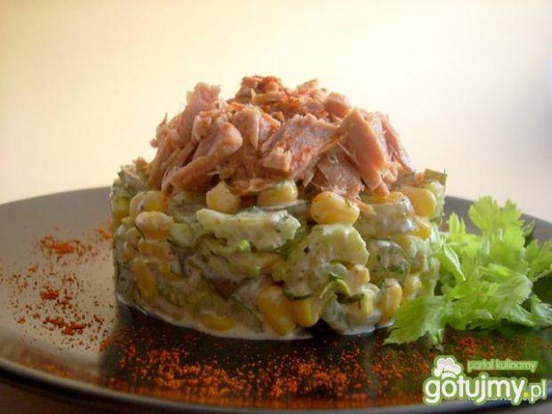 Bardzo szybka sałatka z tuńczykiem