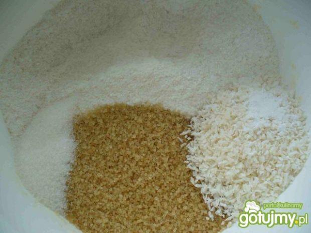 Bezglutenowe ciasteczka kokosowe