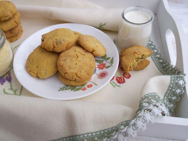 Bezglutenowe ciasteczka z mąki kukurydzianej