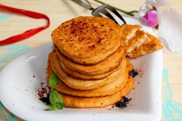 Bezglutenowe placki z tofu pomidorowego