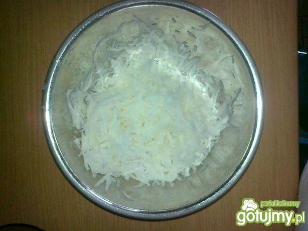 Biała rzepa z marchwią