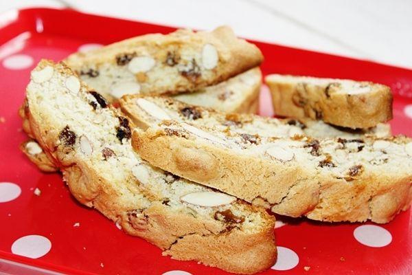 Biscotti podwójnie pieczone
