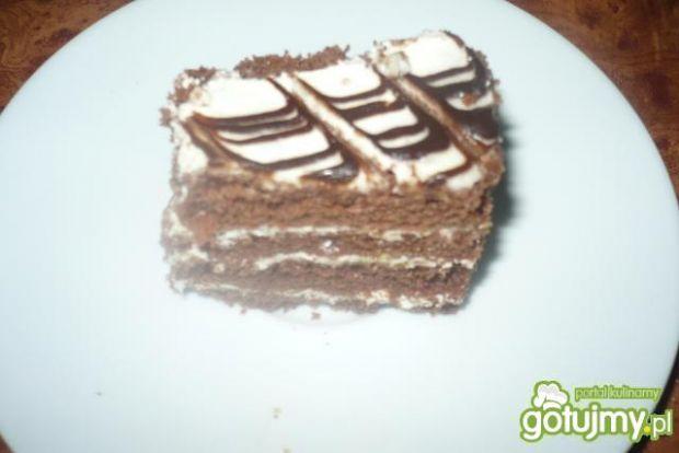 Biszkoptowe ciasto z masą