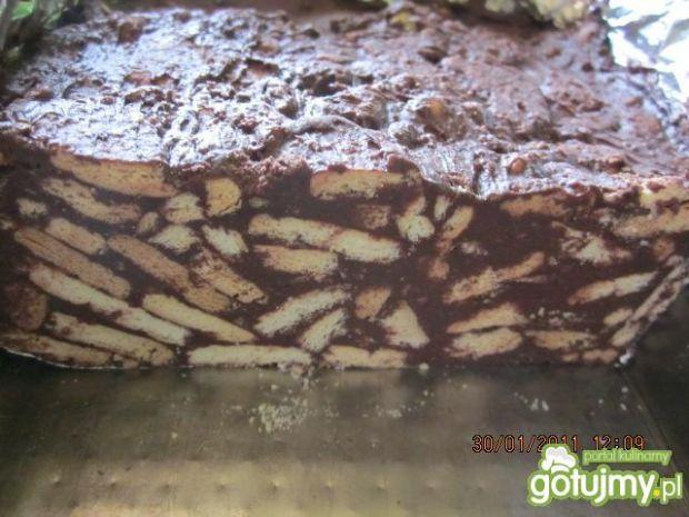blok budyniowo-czekoladowy