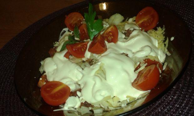 Błyskawiczna sałatka z pomidorów