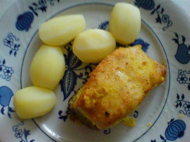 Boczek na obiad w jajecznej koszulce