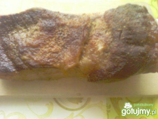 Boczek pieczony w rękawie do chleba
