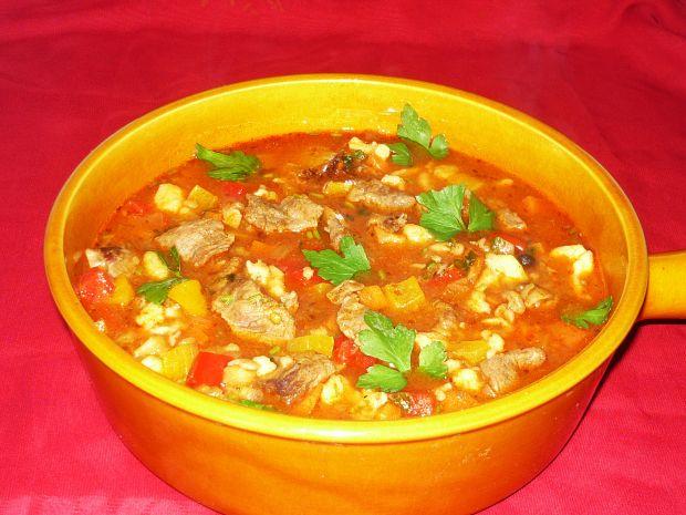 Bogracz zupa węgierska