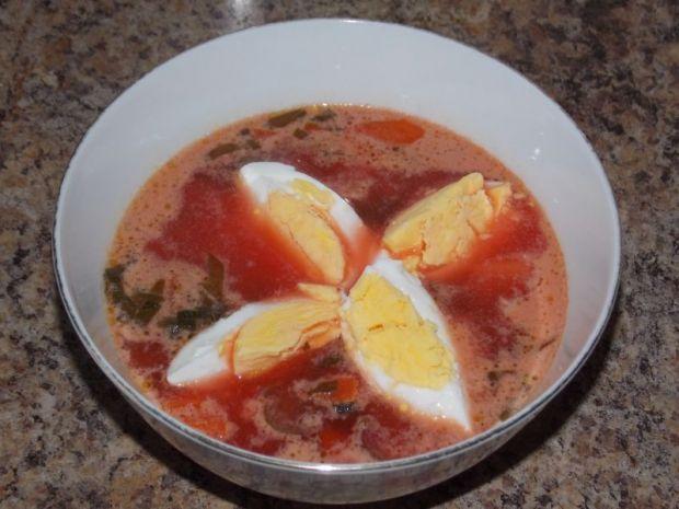 Botwinka z jajkiem