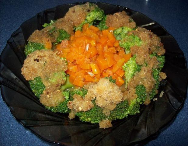 Brokuł z marchewką