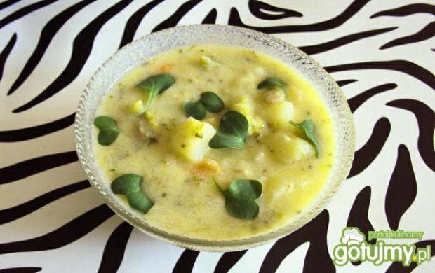 Brokułowa zupa