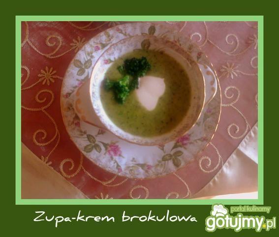Brokułowy krem, czyli zupa z brokuła