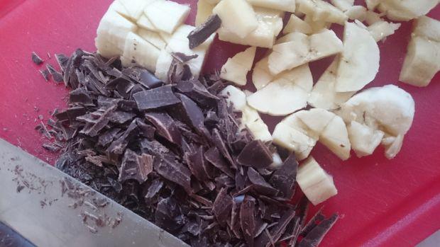 Brownie mocno bananowe (bez cukru i glutenu)
