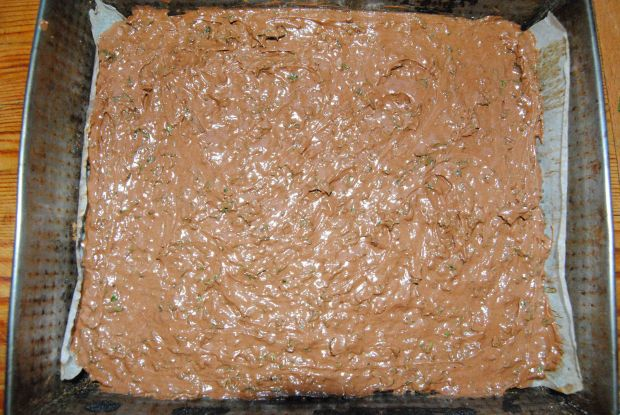 Brownie z jarmużem