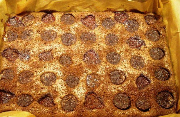 Brownie z owocami