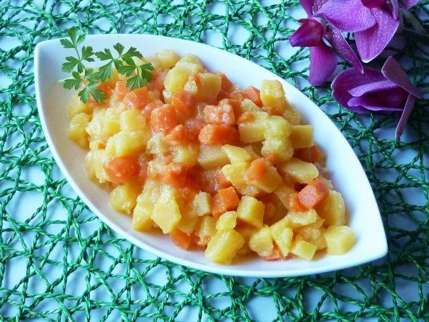 Brukiew z marchewką do obiadu