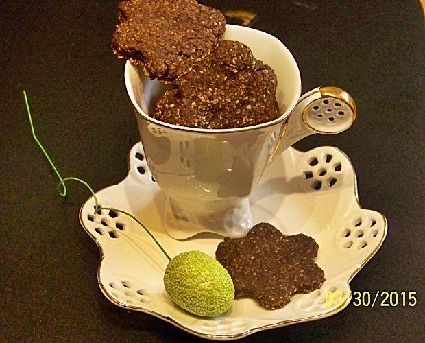 Brunsli - tradycyjne szwajcarskie ciasteczka