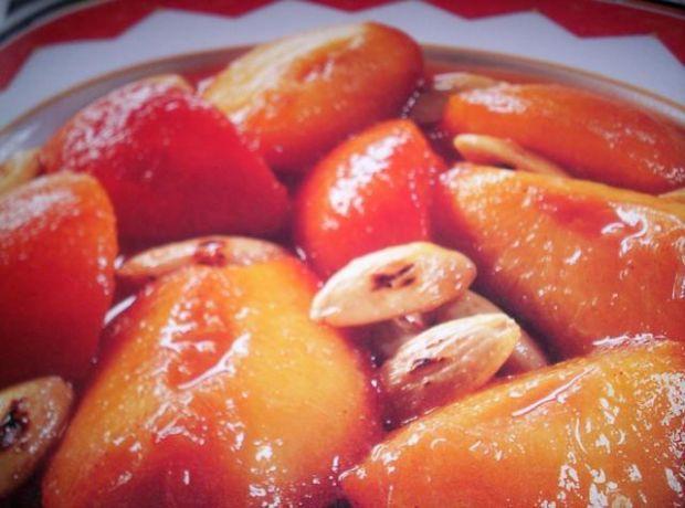 Brzoskwinie na sposób orientalny