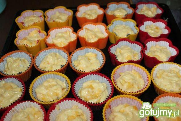 Brzoskwiniowe muffinki