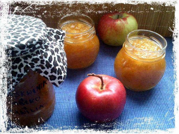 Brzoskwiniowo-jabłkowa konfitura