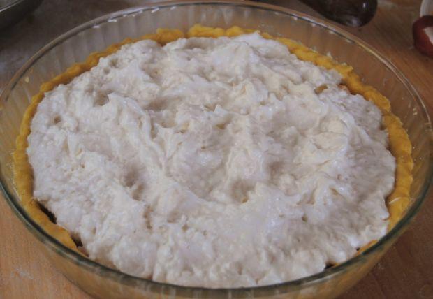 Brzoskwiniowo – kokosowa tarta