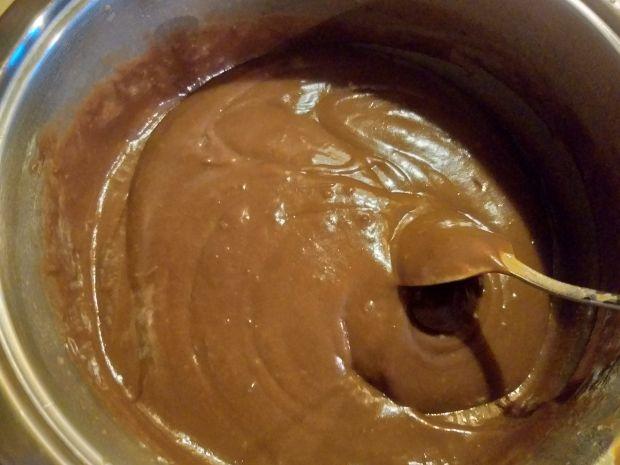 Budyń czekoladowy na żółtkach