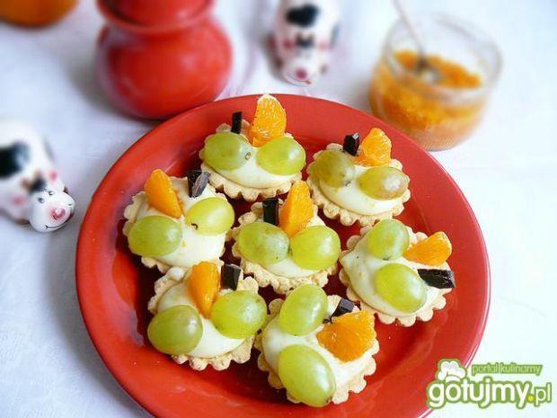 Budyniowe babeczki z nutą pomarańczy