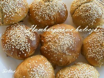 Bułeczki hamburgerowe;)