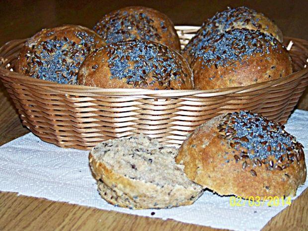 Bułeczki z siemieniem lnianym