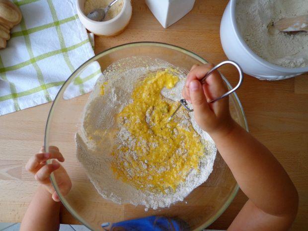 Bułeczki ze szpinakiem