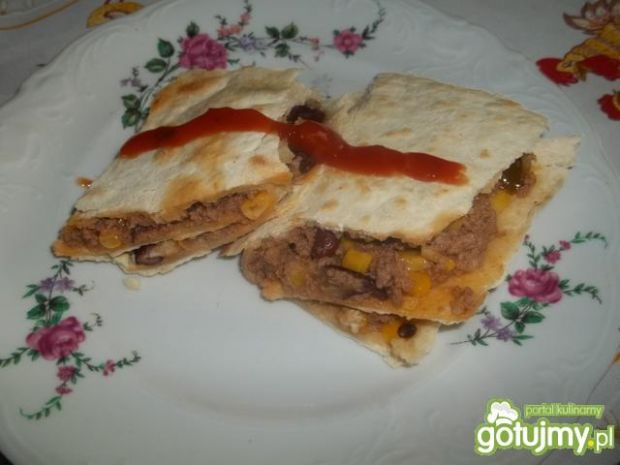 burrito z tortillą