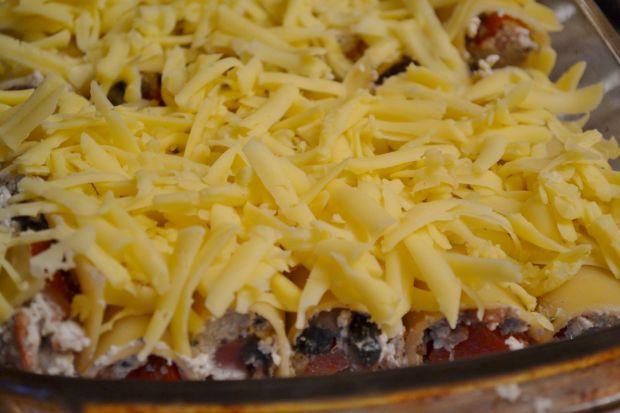Cannelloni faszerowane białym serem i warzywami