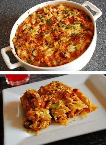 Cannelloni z Kurczakiem