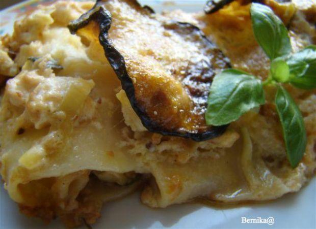 Cannelloni z piersią w sosie smietanowym