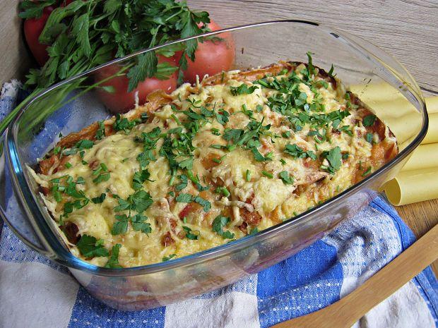 Cannelloni z pomidorowym beszamelem