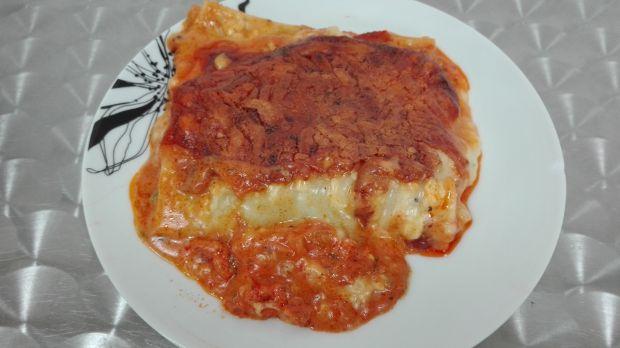 Cannelloni ze szpinakiem pod beszamelem