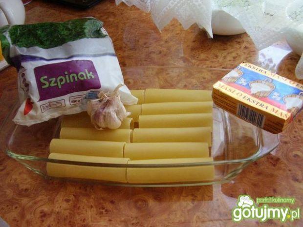 Cannelloni ze szpinakiem wg Konczi