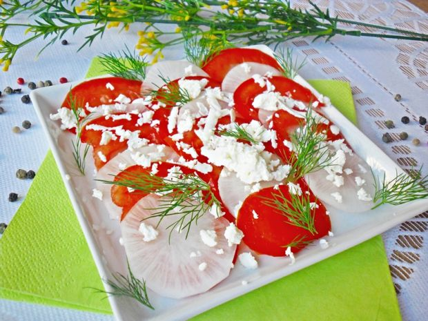 Carpaccio z warzyw