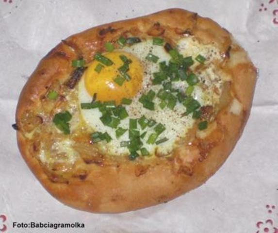 Cebulaki z jajkiem :