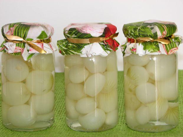 Cebulki marynowane