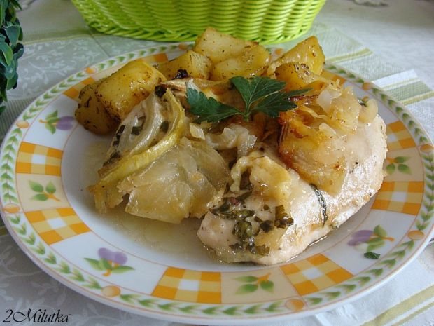 Cebulowy filet z kurczaka
