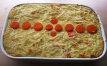 Chicken liver Pie