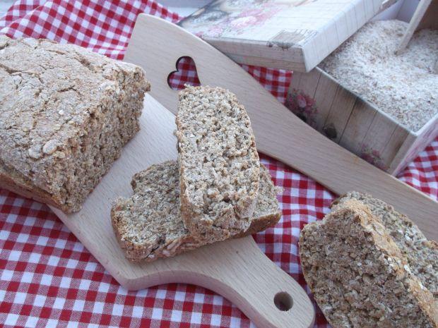 Chleb graham z płatkami owsianymi