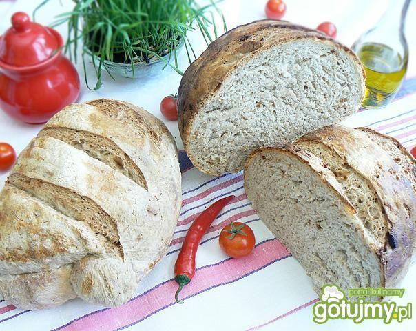 Chleb mieszany z otrębami z żurawiną