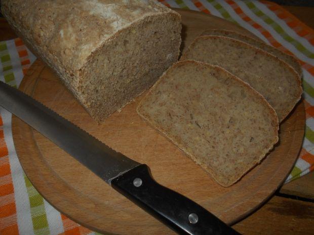 Chleb na zakwasie z kaszą jaglaną